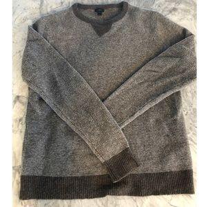 100% wool brown J Crew sweater Large